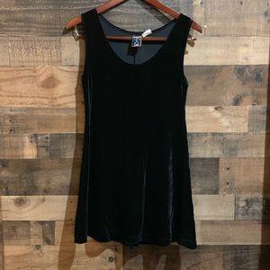 ❤️3/$20 American Girl Black Velvet Velour Jumper